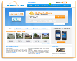 Homes.com Launches New Version of its Real Estate Search Website