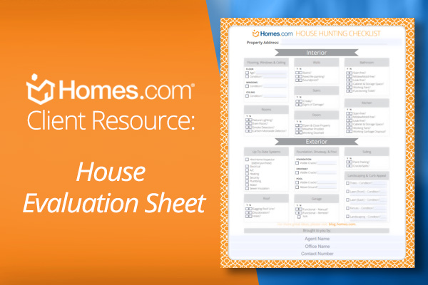 Homes.com House Hunting Checklist