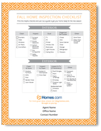 Stay Cozy with the Homes.com Fall Inspection List