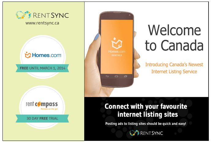 Homes.com Partnership Extends Rental Channels Into Canada!