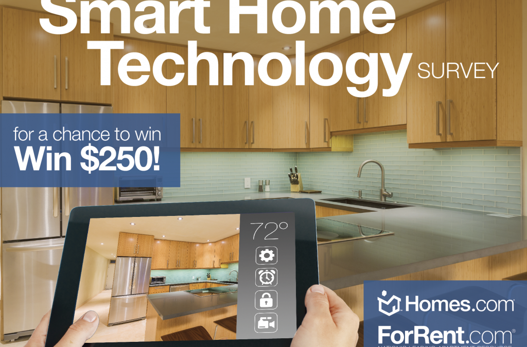 Take the 'Smart Home Technology Survey' for a Chance to Win $250!
