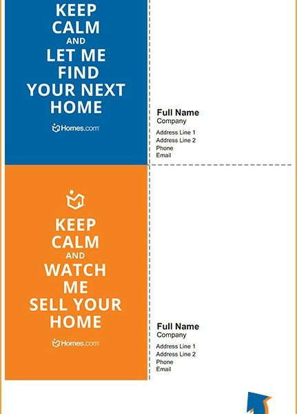 Tell Buyers and Sellers to 'Keep Calm' With These Customizable Graphics!