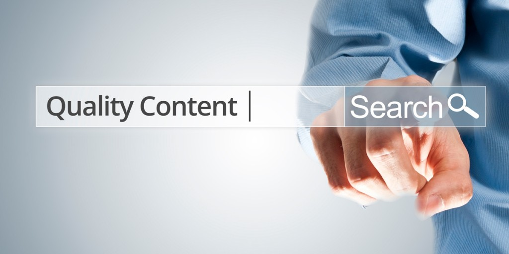 Adding Quality Content to Your Website