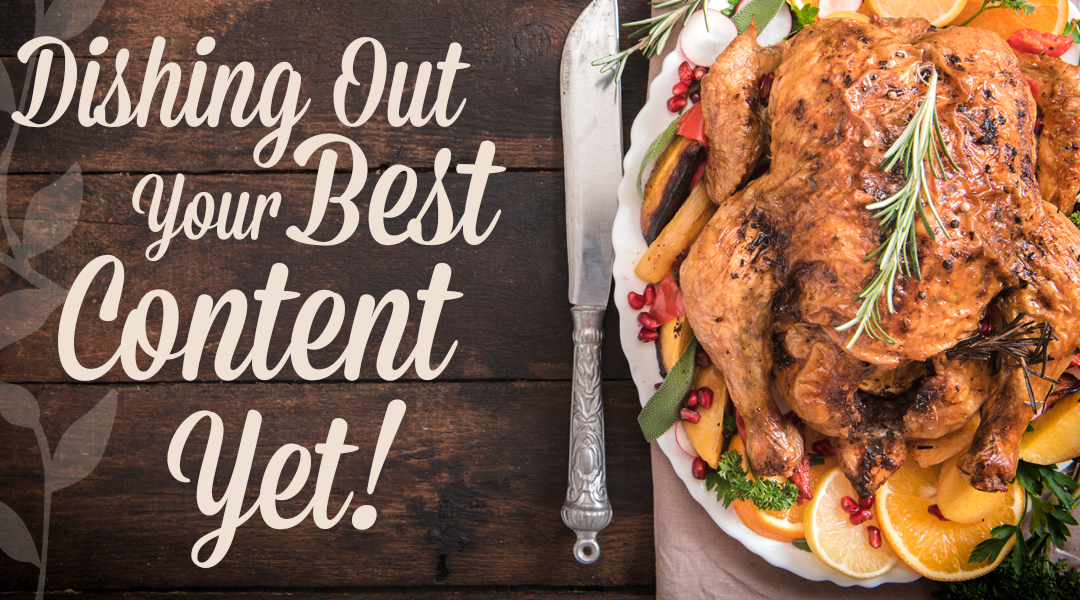Instagram, Thanksgiving, and Your Best Content Yet!