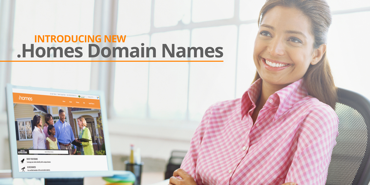 Register Your .Homes Domain Name Before It's Gone
