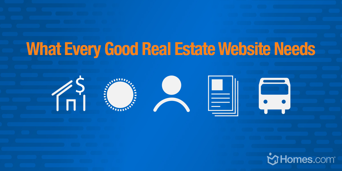 [Infographic] What Every GOOD Real Estate Website Needs