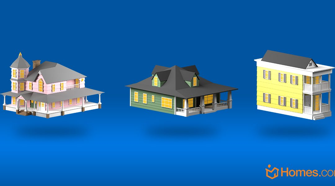 [Infographic] Common American House Types