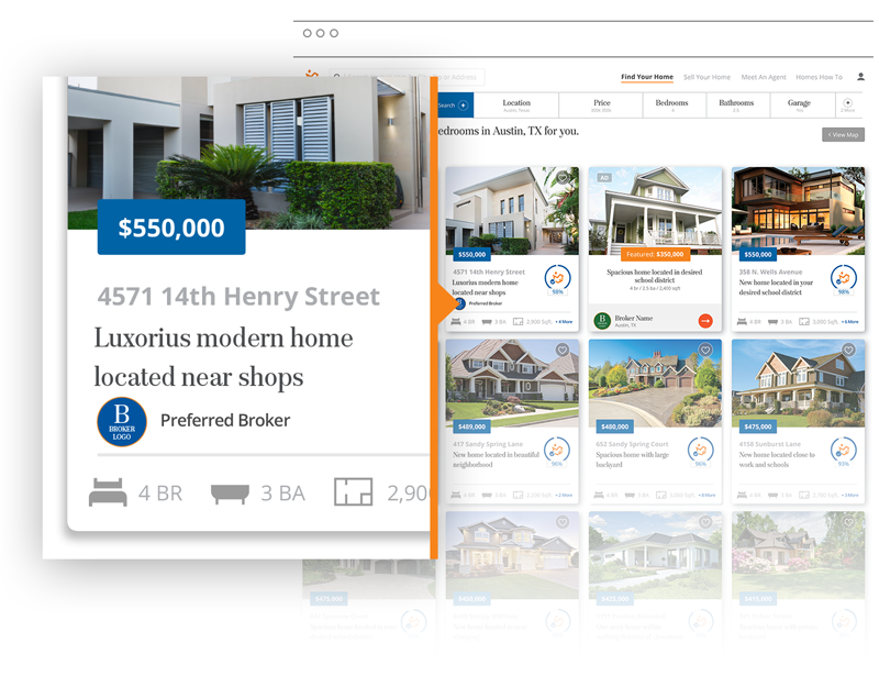 Homes.com Preferred Listings