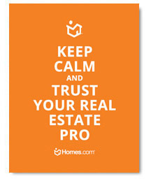 Keep Calm Trust Your Real Estate Pro