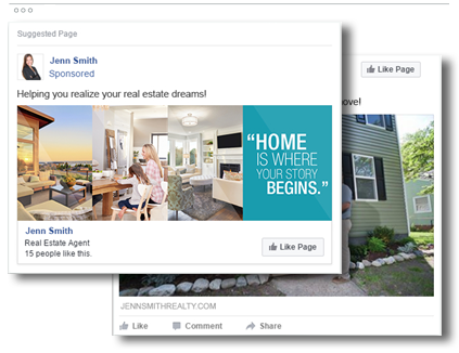 Homes.com managed Facebook ads