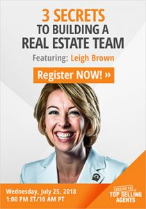 Secrets of Top Selling Agents - Leigh Brown Webinar