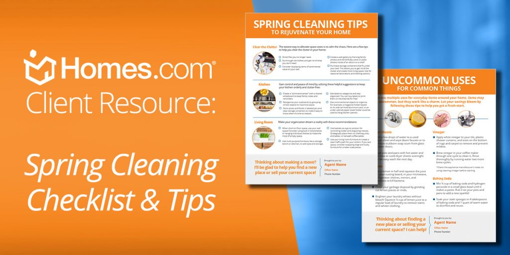 Warm Your Leads Up with Free Spring Cleaning Checklists