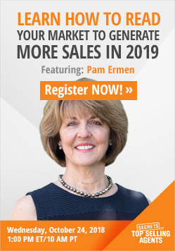 Secrets Webinar with Pam Ermen - Learn How to Read Your Market To Generate More Sales In 2019