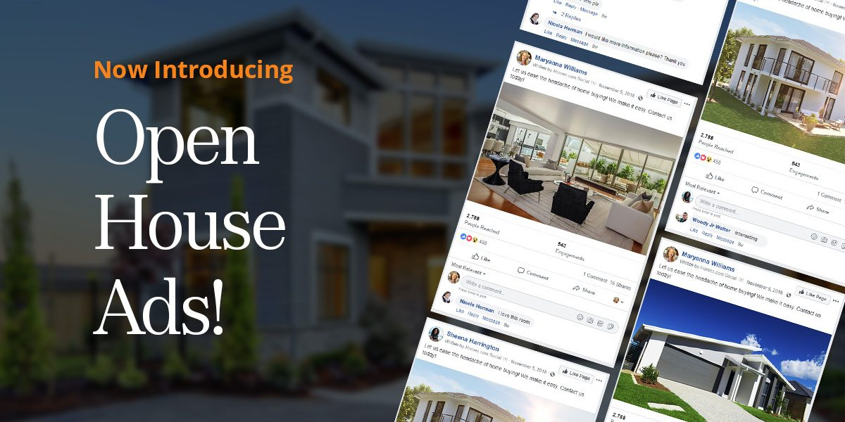 Introducing Open House Ads for Facebook!