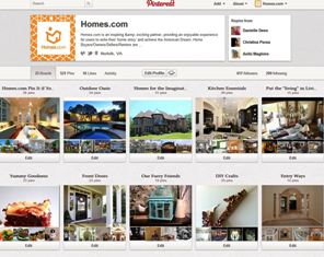 Homes.com - Pinterest - Real Estate