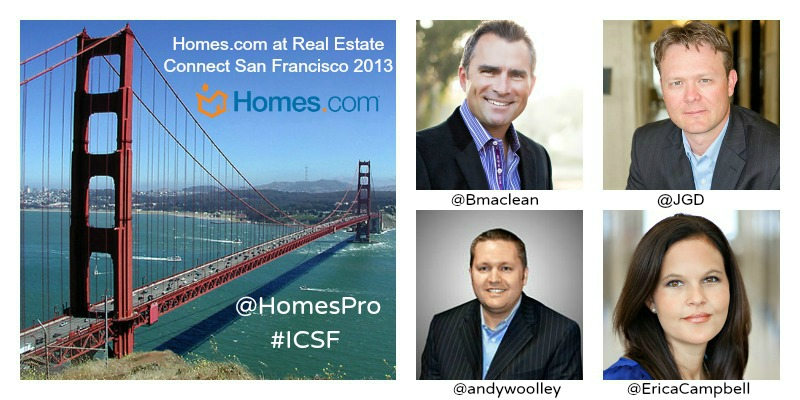 Homes.com Executive Team Speaking at Real Estate Connect 2013