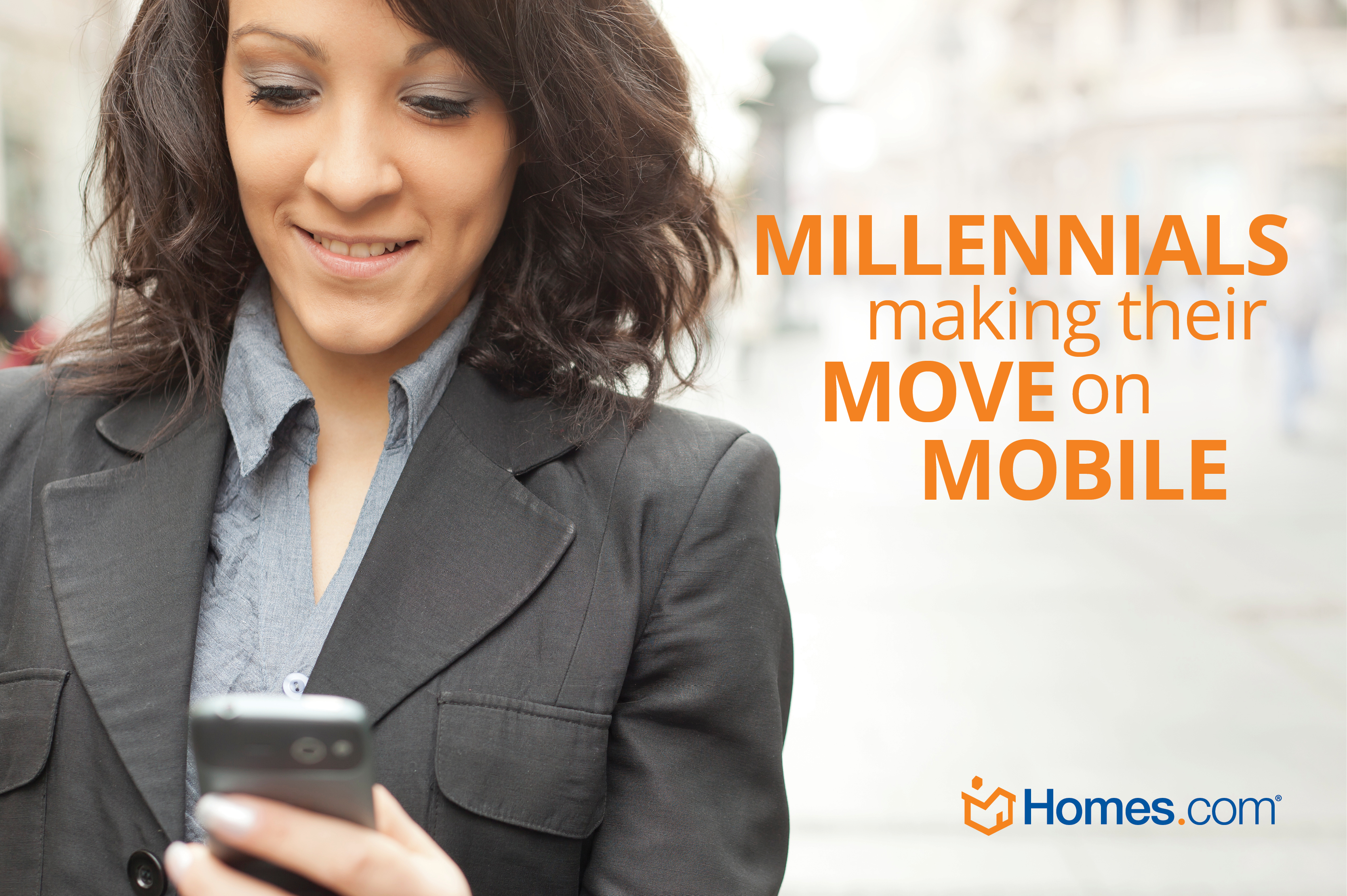 Homes.com reports Mobile is Preffered by Millenialls