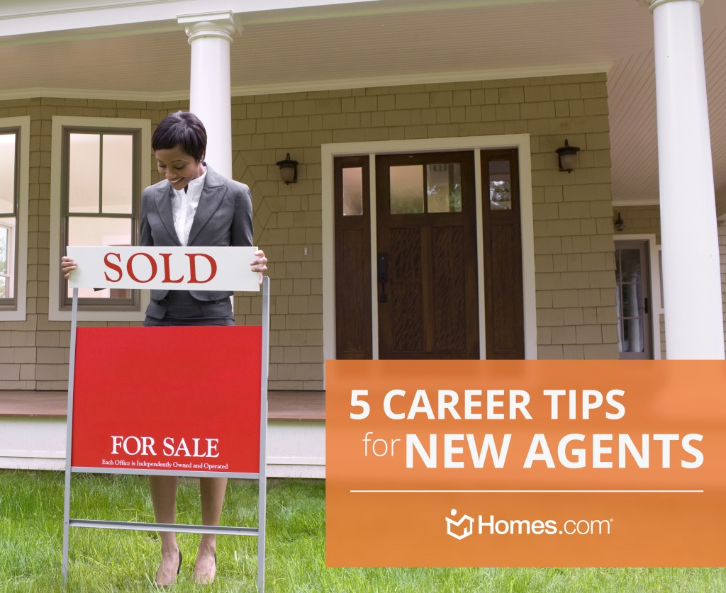 5 Career Tips for New Agents from Homes.com