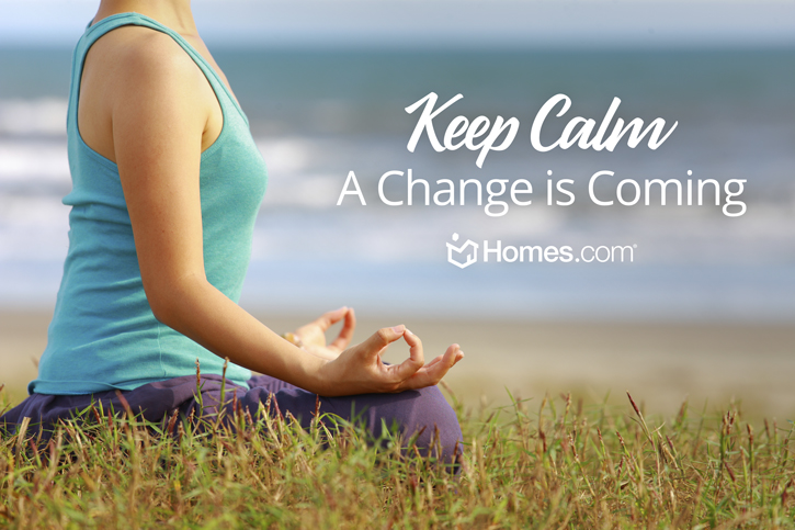 Keep Calm: A Change is COming