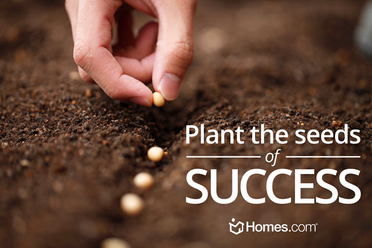 Plant the seeds of success!