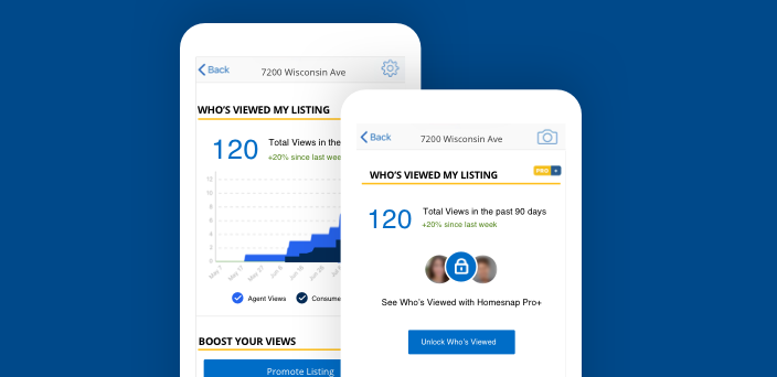 Check Who's Viewed Your Profile and Listings